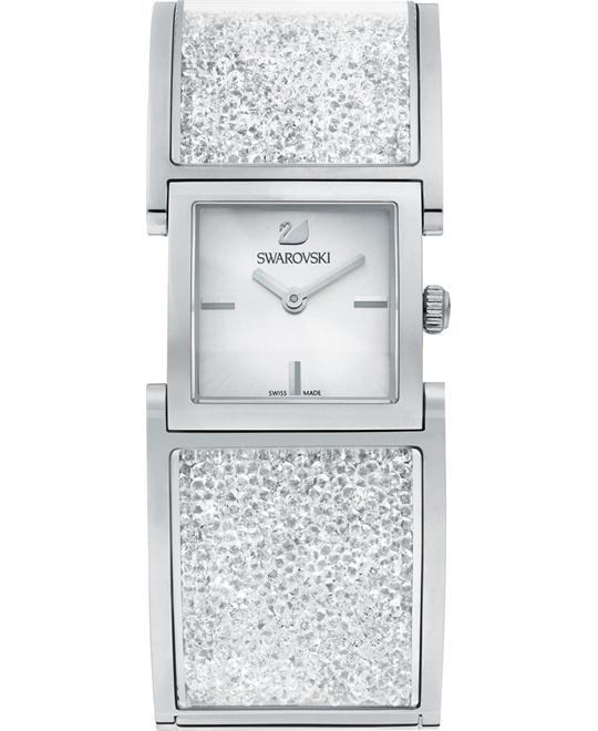 Swarovski Crystalline Swiss Quartz Women's Watch 23X23mm