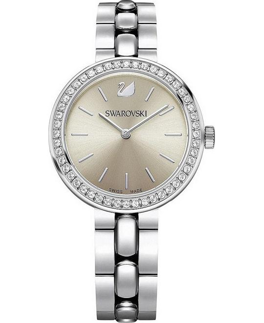 Swarovski Daytime Beige Ladies Watch 34mm