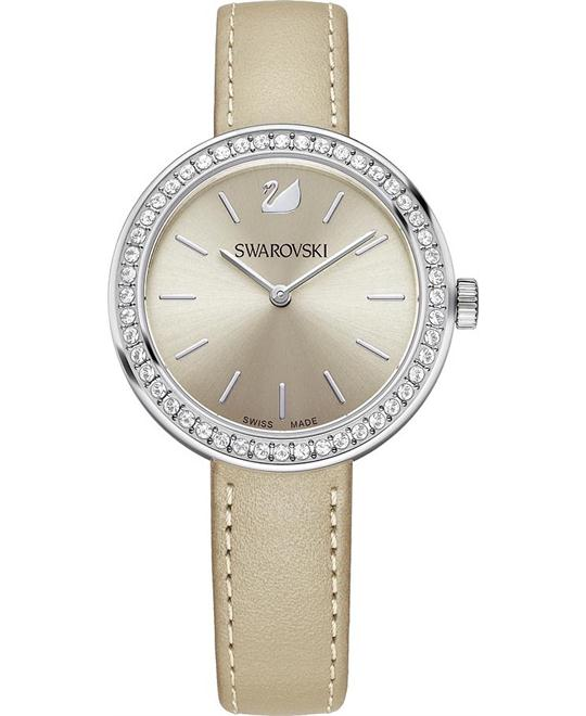 Swarovski Daytime Beige Watch 34mm