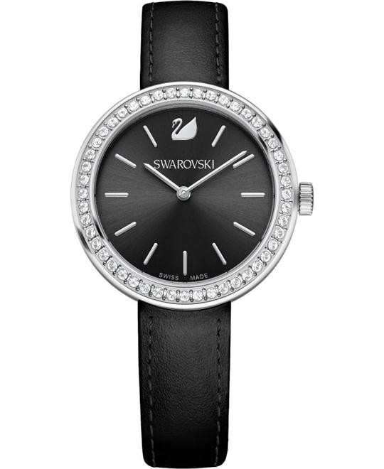 Swarovski Daytime Black Watch 34mm