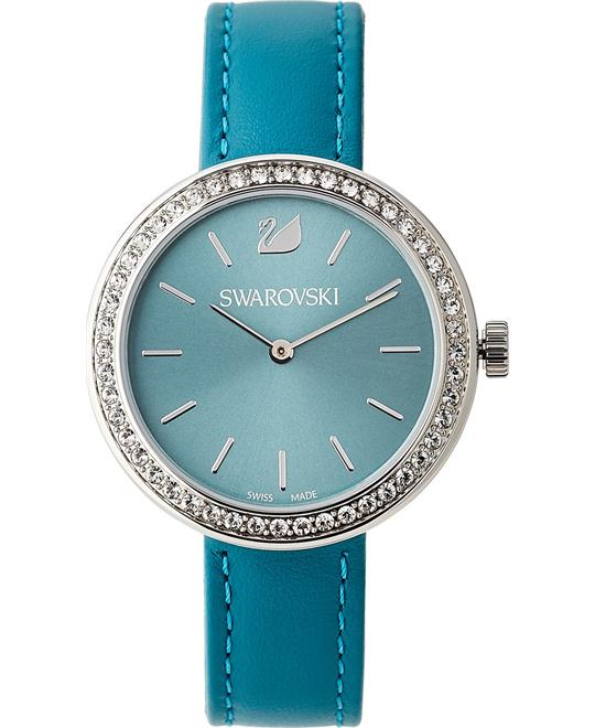 Swarovski Daytime Petrol Ladies Watch 34mm