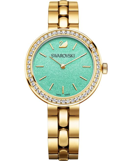 Swarovski Daytime Turquoise Bracelet  Ladies Watch 34mm