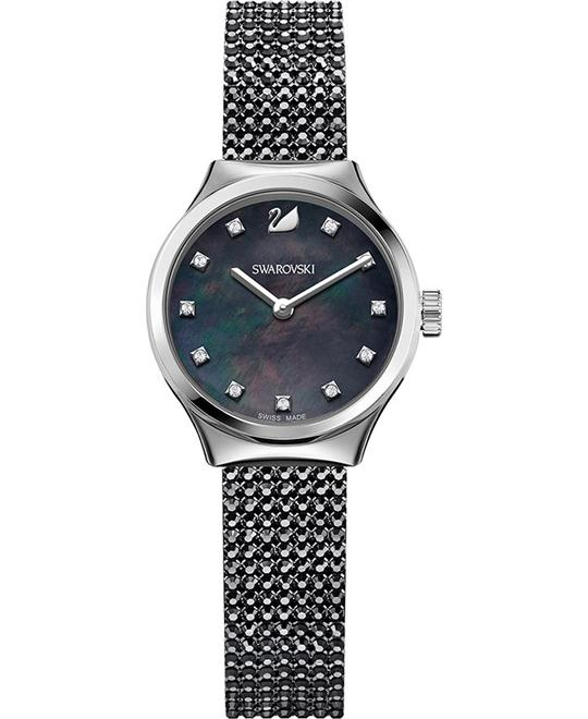 Swarovski Dreamy Black Ladies Watch 28mm