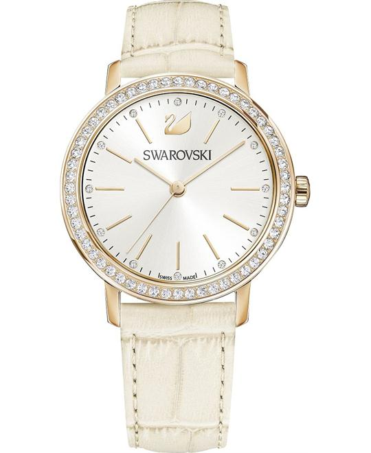 Swarovski Graceful Lady Beige Ladies Watch 37mm