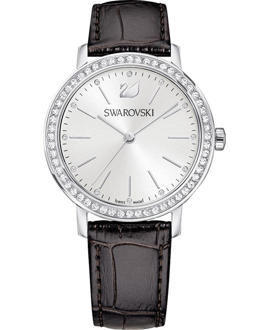 Swarovski Graceful Lady Brown Ladies Watch 37mm