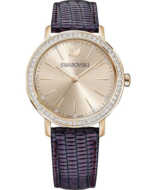 Swarovski Graceful Lady Purple Ladies Watch 37mm