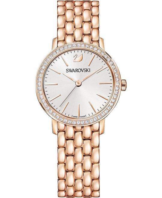 Swarovski Graceful Mini Rose Gold Tone Ladies Watch 29mm