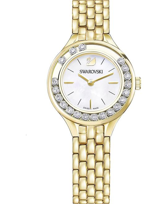 Swarovski Lovely Crystals Mini Gold Tone Ladies Watch 31mm