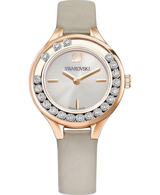 Swarovski Lovely Crystals Mini Gray Ladies Watch 31mm
