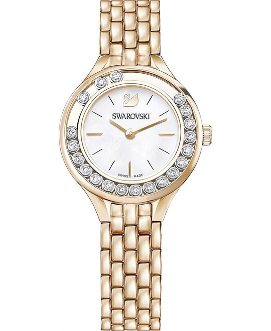 Swarovski Lovely Crystals Mini Rose Gold Tone Ladies Watch 31mm
