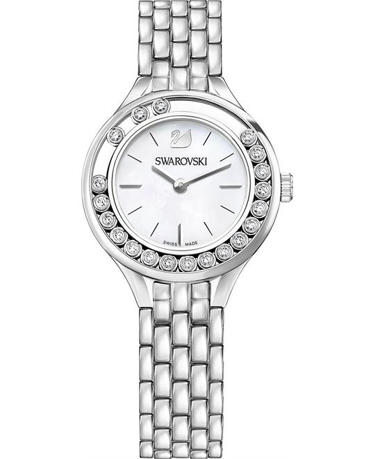 Swarovski Lovely Crystals Mini Silver Tone Ladies Watch 31mm