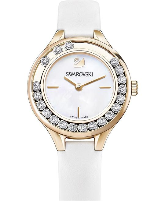 Swarovski Lovely Crystals Mini White Ladies Watch 31mm