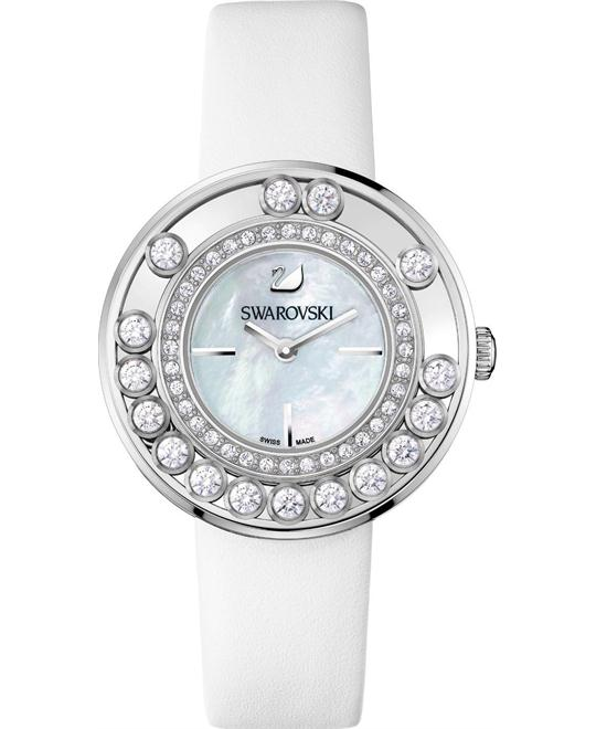 Swarovski Lovely Crystals Watch Calfskin sapphire 35mm