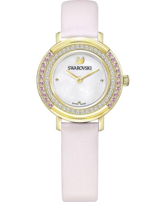 Swarovski Mini Playful Lady Pink Ladies Watch 28mm
