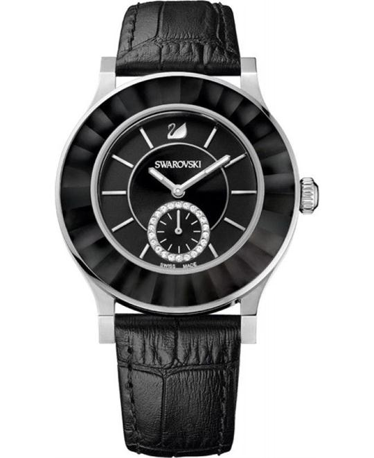 Swarovski Octea Classica Black Ladies Watch 39mm