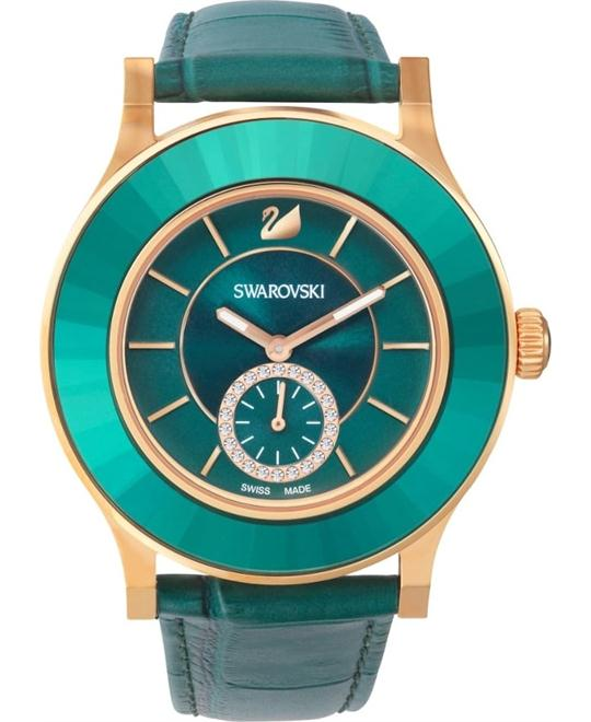 Swarovski Octea Classica Emerald  Watch 39mm