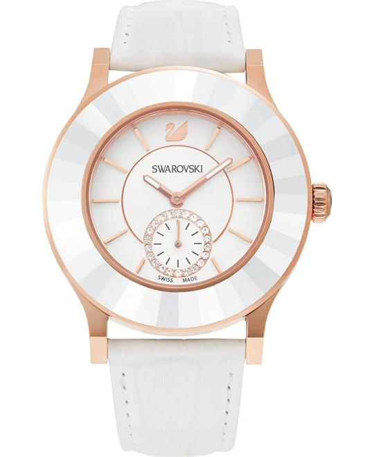 Swarovski Octea Classica Rose Gold Watch 39mm