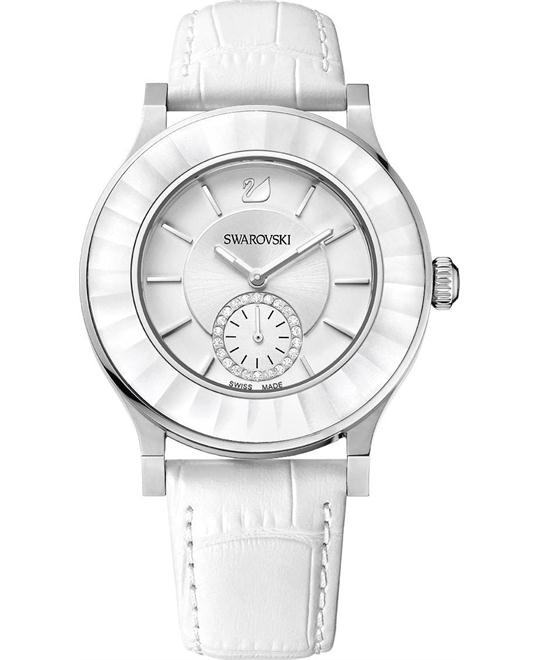 Swarovski Octea Classica White Ladies Watch 39mm