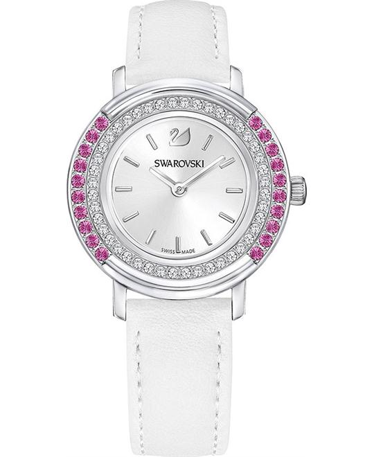 Swarovski Playful Lady White Ladies Watch 34mm