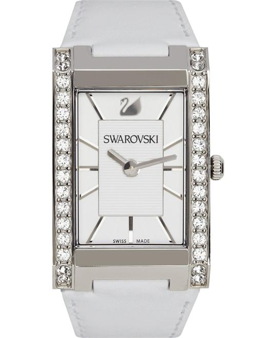 Swarovski Watch Women's Swiss Leather
