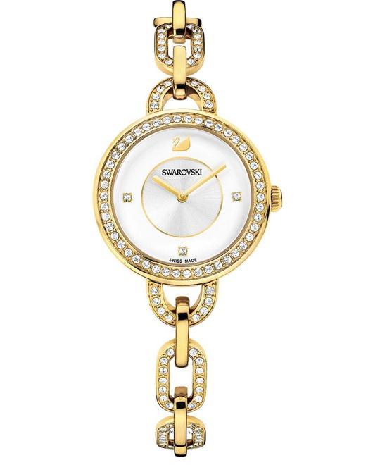 Swarovski Women's Swiss Gold Bracelet 31mm