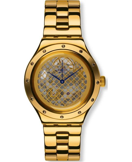 SWATCH Boleyn Automatic Skeleton Unisex Watch 37mm