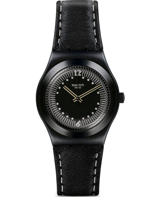Swatch Canonero Women's Irony Black Swiss Watch 32mm