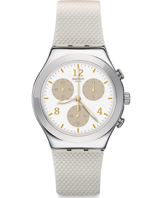 Swatch Hello Pretty Chronograph Unisex Watch 40mm