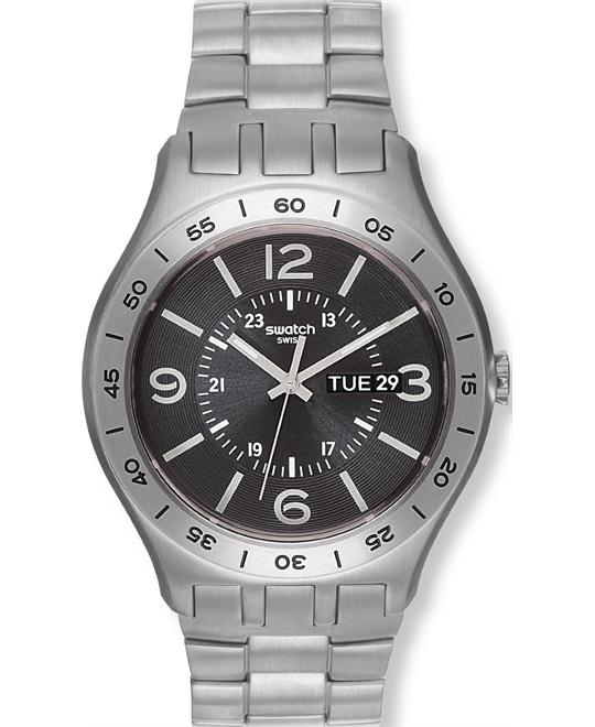 Swatch In A Dark Grey Mode Men's watch, 43mm