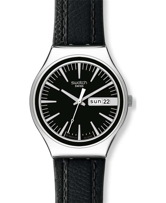 Swatch Irony Charcoal Suit Day-and-Date Men's watch 40mm