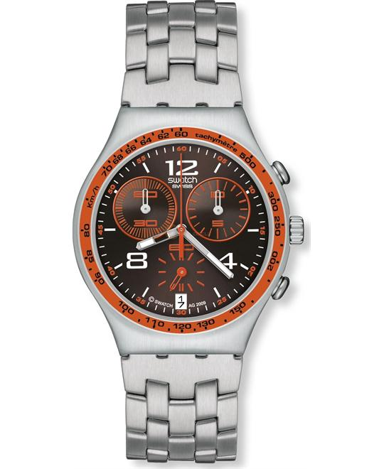 Swatch Irony Chrono Vital Spark Black Dial Men's watch 39mm