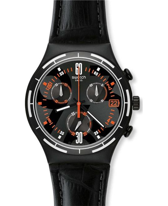 Swatch Irony Eruption Chronograph Mens Watch 40mm