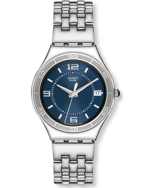 Swatch Irony Trustfully Yours Blue Dial Mens Watch 43mm