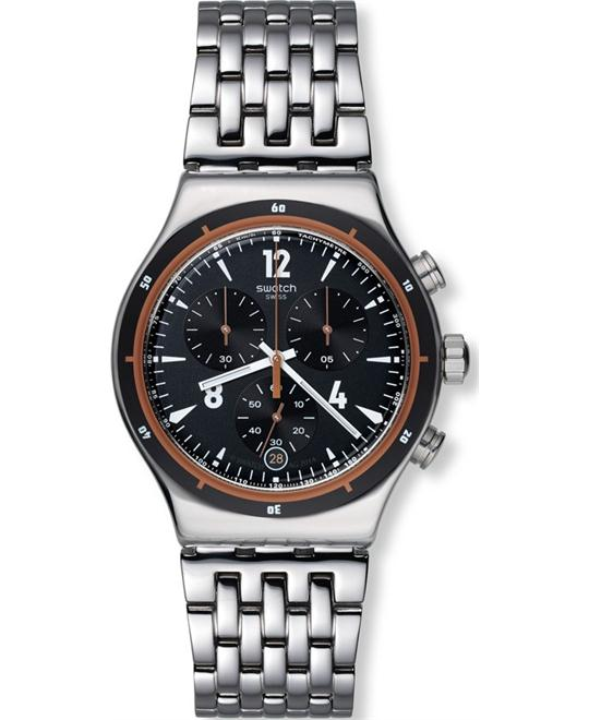 Swatch Men's  Irony Swiss Quartz Silver Watch 43mm
