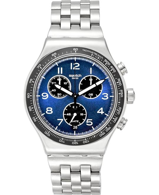 Swatch Men's Irony Swiss Quartz Watch 43mm