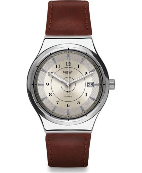Swatch Men's Sistem51 Irony Automatic Watch 42m