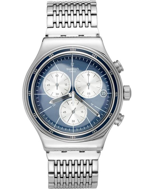 Swatch Men's Swiss Chronograph Wales Watch 43 mm