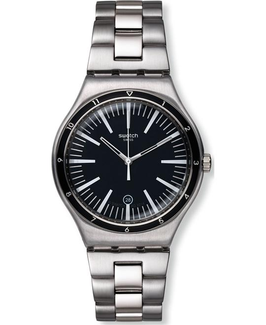 Swatch Mire Noire Mens Watch 41mm