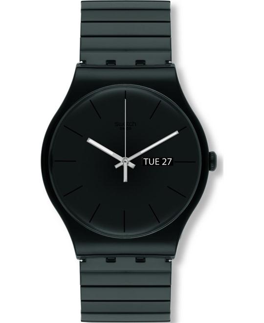 SWATCH Mystery Life Black Watch 41mm