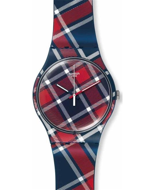 Swatch New Gent Colour-Kilt Watch 41mm