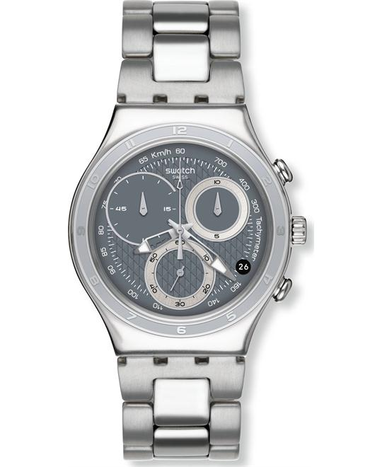 Swatch Oblique Chrono Quartz Stainless Steel 40mm