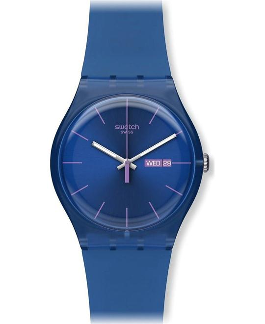 Swatch Originals Cobalt Rebel Unisex Watch 41mm