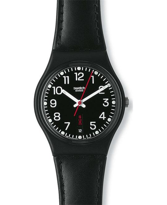 SWATCH Red Sunday Unisex Watch 34mm