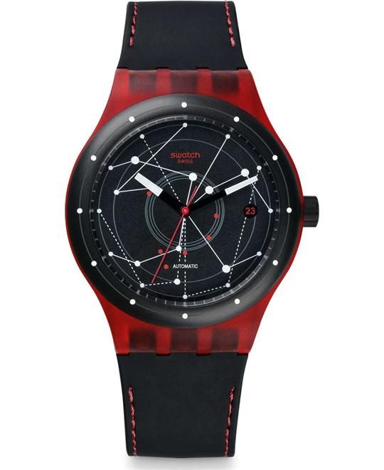 Swatch Sistem51 Sistem Red Watch 42mm