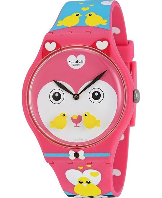 Swatch SUOZ190 Choupinou Ladies Watch 41mm