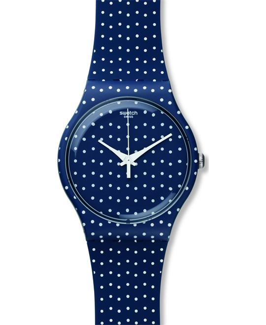 Swatch Unisex For the Love of K Quartz Blue Watch 42mm