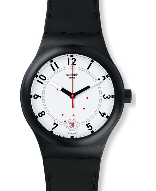 Swatch Unisex Originals Analog Swiss Automatic Watch 42mm
