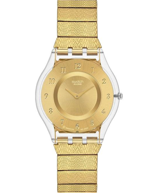 Swatch Warm Glow Ladies Watch 34mm