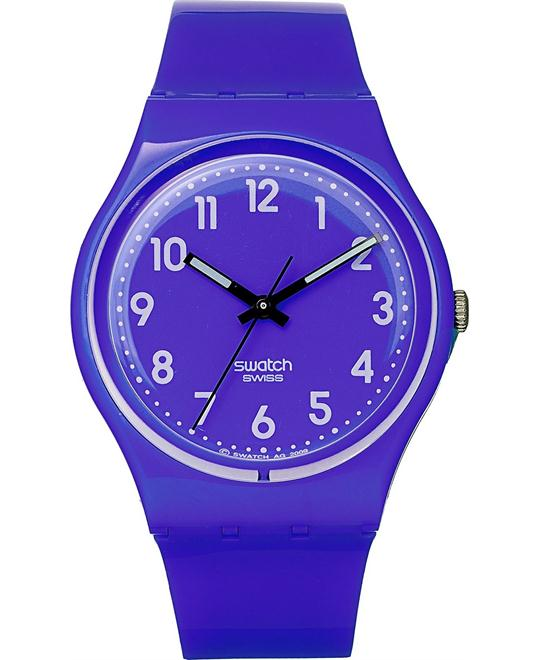 Swatch Watch, Unisex Swiss Callicarpa Purple, 34mm