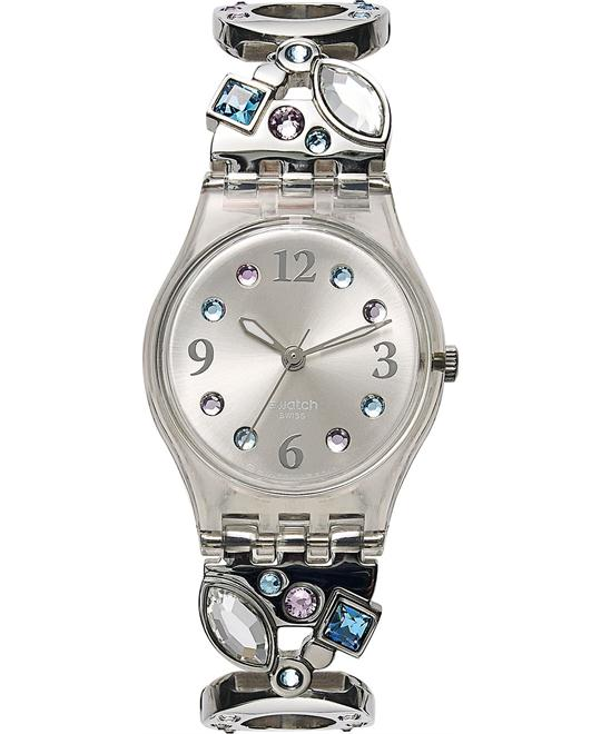 Swatch Watch, Women's Swiss Menthol Tone 25mm